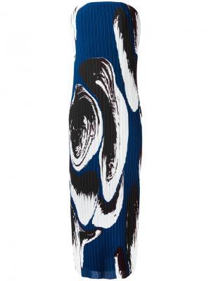 Платье Carina Solace. Цвет: синий