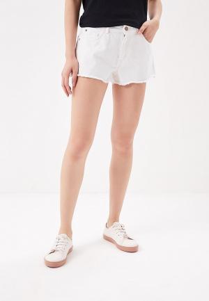 Шорты джинсовые Roxy. Цвет: белый