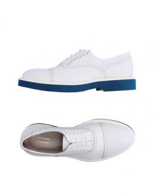 Обувь на шнурках LORIBLU. Цвет: белый