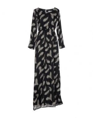 Длинное платье DRY LAKE.. Цвет: черный