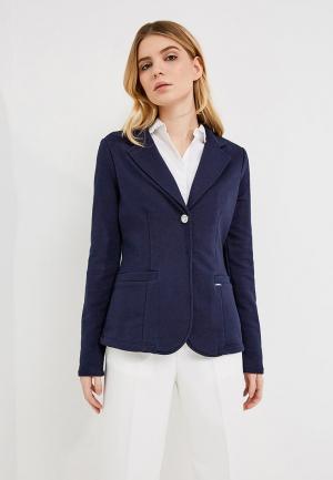 Пиджак Liu Jo Jeans. Цвет: синий