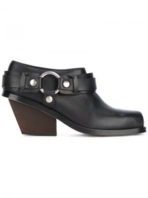 Ботинки по щиколотку Wanda Nylon. Цвет: чёрный