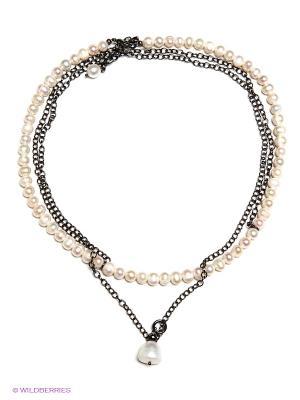 Ожерелье Polina Selezneva. Цвет: кремовый