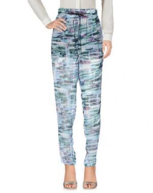 Повседневные брюки MINIMUM. Цвет: лазурный