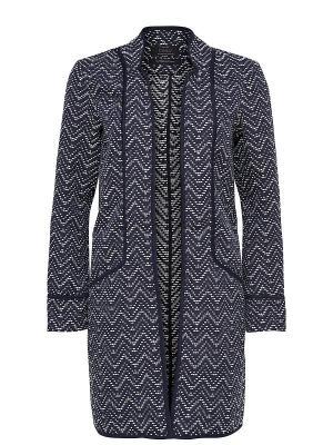 Пальто ONLY. Цвет: темно-синий
