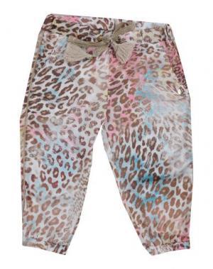 Повседневные брюки MICROBE. Цвет: хаки