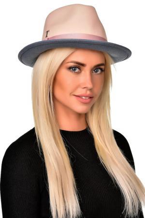 Шляпа Tonak. Цвет: молочный, серо-голубой