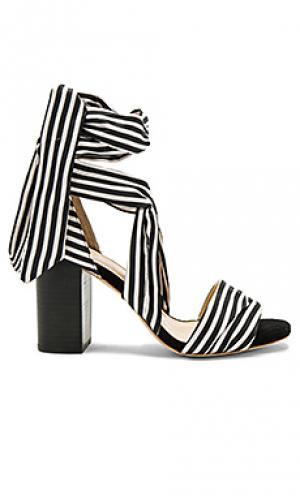 Туфли на каблуке maggie RAYE. Цвет: black & white