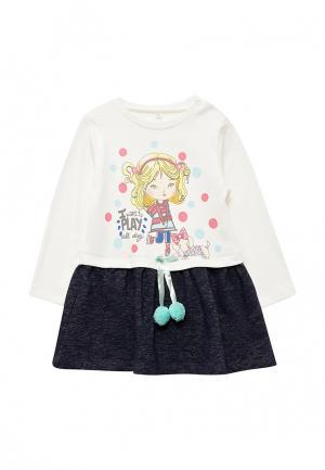 Платье Sonia Kids. Цвет: разноцветный