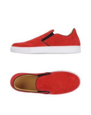 Низкие кеды и кроссовки MR.HARE. Цвет: красный