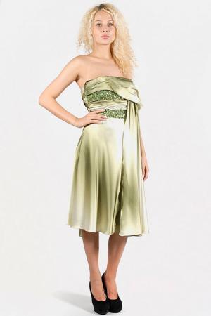 Платье Aftershock. Цвет: green