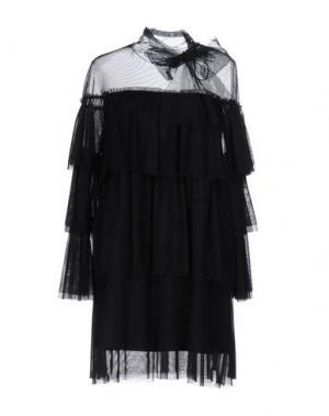 Короткое платье TILL.DA. Цвет: черный
