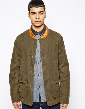 Вощеная куртка Bucks and Co Weapon &. Цвет: зеленый