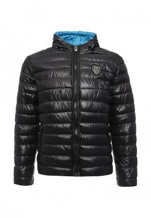 Куртка утепленная Rivaldi. Цвет: черный