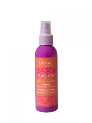Лосьон с экстрактом плаценты для укрепления волос EVINAL. Цвет: прозрачный