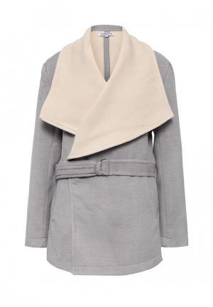 Пальто Andromede. Цвет: серый
