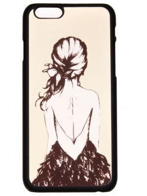 Чехол для iPhone 6 plus Lola. Цвет: бежевый, коричневый
