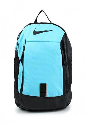 Рюкзак Nike. Цвет: голубой