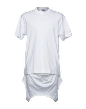 Футболка CHRISTOPHER SHANNON. Цвет: белый