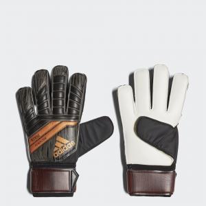 Вратарские перчатки Predator 18 Fingersave Replique  Performance adidas. Цвет: красный