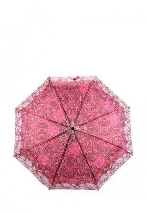 Зонт складной Elisabeth. Цвет: розовый