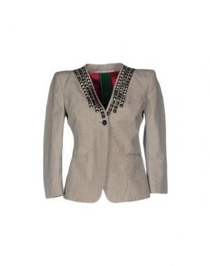 Пиджак NOLITA. Цвет: серый