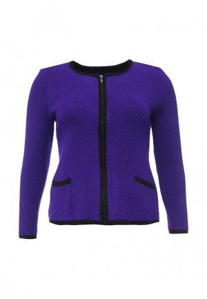 Жакет Milana Style. Цвет: фиолетовый