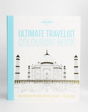 Books Раскраска Ultimate Travelist Lonely Planet. Цвет: мульти