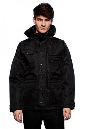 Куртка  Wade Nylon Black Krew. Цвет: черный