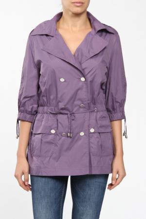 Куртка M&L Collection. Цвет: фиолетовый