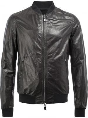 Двухсторонняя куртка Drome. Цвет: чёрный