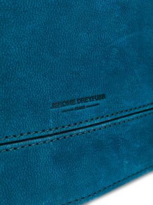 Сумка через плечо Bobi Jérôme Dreyfuss. Цвет: синий