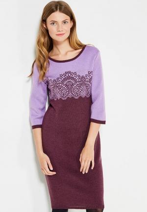 Платье Vay. Цвет: фиолетовый