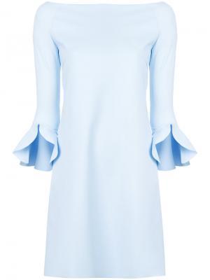 Sheila off-shoulder dress Chiara Boni La Petite Robe. Цвет: синий