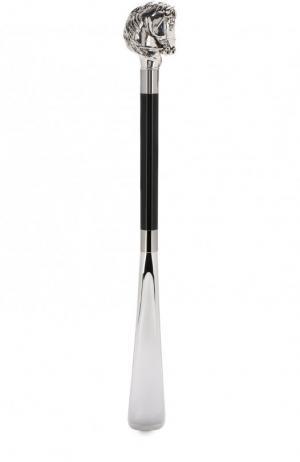 Рожок для обуви Pasotti Ombrelli. Цвет: черный