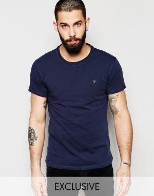 Farah Эластичная футболка эксклюзивно для. Цвет: темно-синий