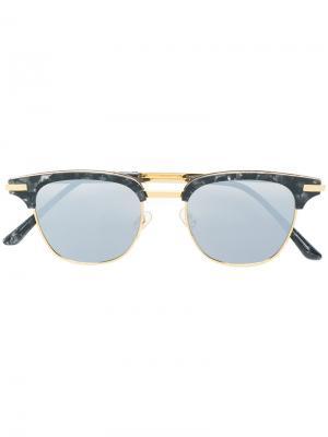 Солнцезащитные очки Core Gentle Monster. Цвет: металлический