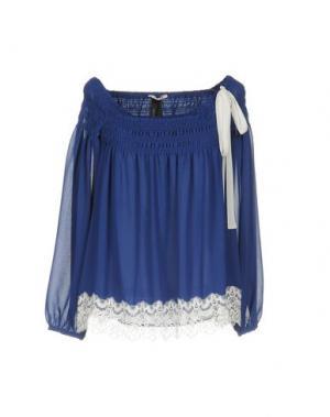 Блузка TOY G.. Цвет: синий