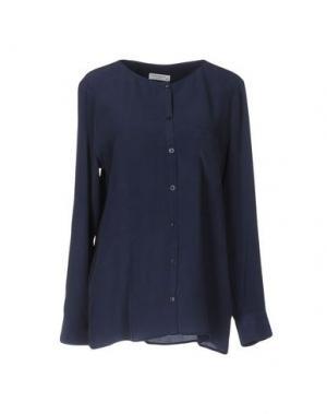 Pубашка EQUIPMENT FEMME. Цвет: темно-синий