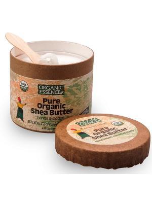 Органическое масло Ши для тела и рук, 114 гр Organic Essence. Цвет: молочный