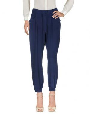 Повседневные брюки WALTER BAKER. Цвет: темно-синий