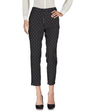 Повседневные брюки LE'S. Цвет: черный