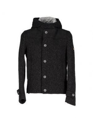 Куртка ROBERTO PEPE. Цвет: стальной серый