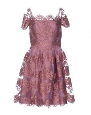 Платье до колена CAILAN'D. Цвет: пастельно-розовый