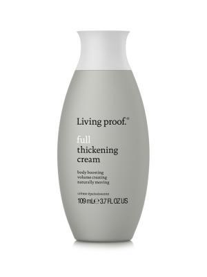 Крем для объема тонких волос Living Proof. Цвет: серый