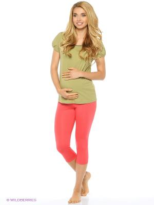 Лосины для беременных Nuova Vita. Цвет: коралловый