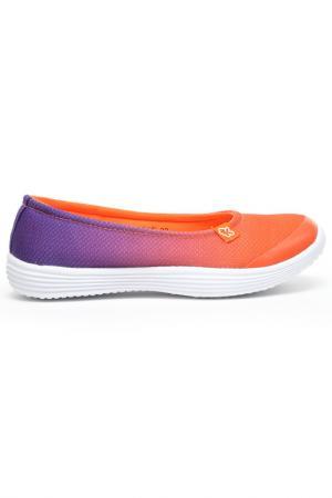 Туфли Kakadu. Цвет: оранжевый