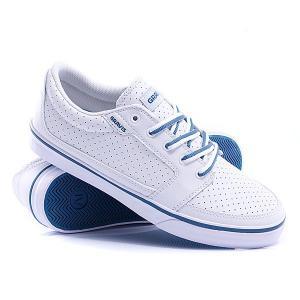 Кеды кроссовки  Lowdown White/Blue Gravis. Цвет: белый