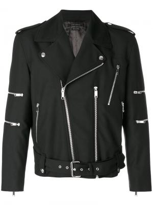 Байкерская куртка Marc Jacobs. Цвет: чёрный