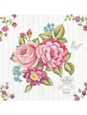 Картина-репродукция Цветы  основа из МДФ Magic Home. Цвет: розовый